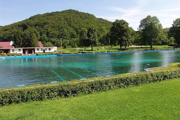 Freibad in Thal