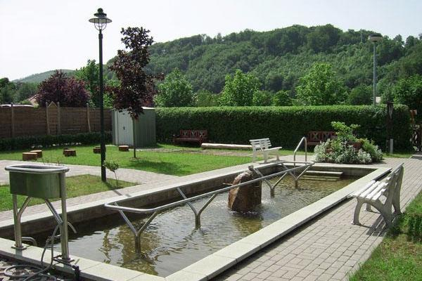 Kneipp-Anlage in Thal